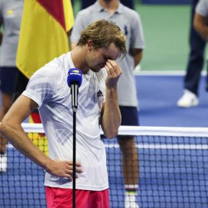 Zverev left reeling after Grand Slam slips