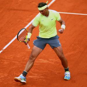 The top men's contenders at the French Open