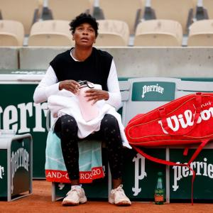 French Open PIX: Venus shocked; Sinner stuns Goffin