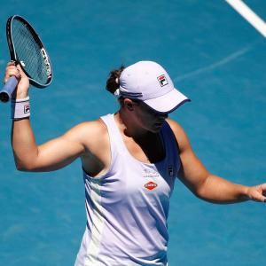 Aus Open: No Ash Wednesday as Barty knocked out