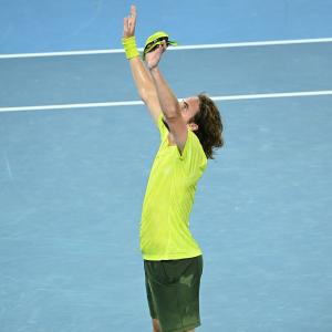 Tsitsipas attains 'nirvana' on court to down Nadal