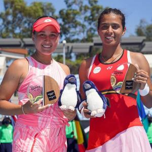 Ankita wins doubles event for maiden WTA title