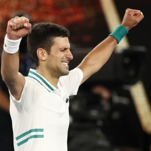 Djokovic creates history, claims ninth Aus Open title