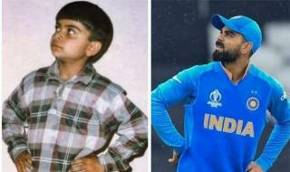 Virat Kohli: Maintaining his swag since the '90s