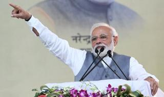 'Modi in a weaker position compared to 2014'