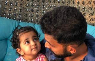 Adorable! Rahane spends time with Aarya