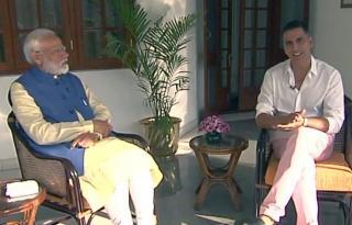 Modi picked Akshay for interview