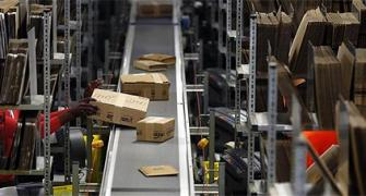 IMAGES: A tour of Amazon's logistics centre