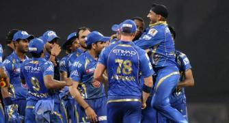 IPL PHOTOS: Mumbai fight back to beat Bangalore