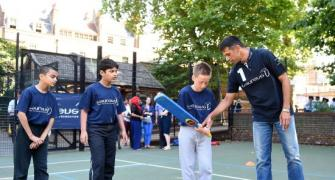 Dravid joins prestigious Laureus World Sports Academy