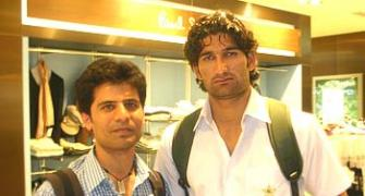 Spotted: Sohail Tanvir and Misbah-ul-Haq