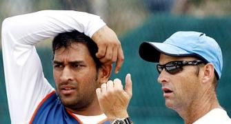 Former India coach Kirsten pays tribute to Dhoni