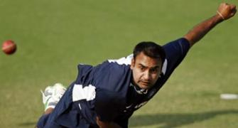 Ganguly for retaining Mishra in second Test