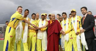 When the Dalai Lama graced the cricketing field