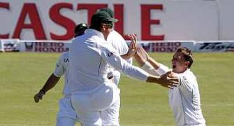 Images: SA pacers leave India in tatters on Day 1