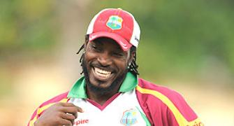 Mendis takes six after Gayle's magical 333