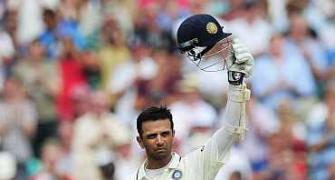 Dravid unplugged: 'I'm enjoying Test cricket'