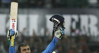 Double delight for record-breaker Sehwag