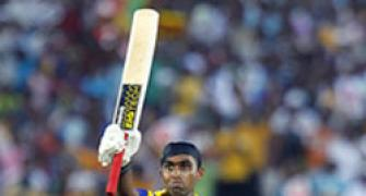 A second Cup ton for Jayawardene