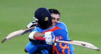 India's ten best successful run chases in ODIs