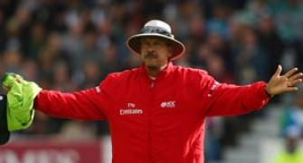 Umpire Doctrove announces retirement