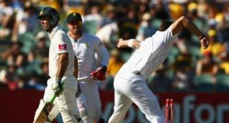South Africa pacemen rattle Australia in late burst