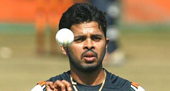 Sreesanth dreams of Ranji return