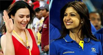 Shilpa Shetty's Rajasthan vs Preity Zinta's Kings XI