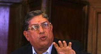 'Don't hound me,' Srinivasan tells media