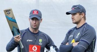 Clarke and Watson need to sort out differences: Waugh