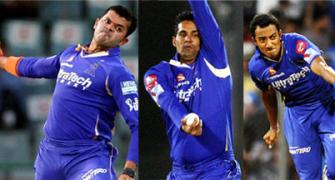 IPL spot-fixing: Sreesanth, 3 others sent to 2-day police custody