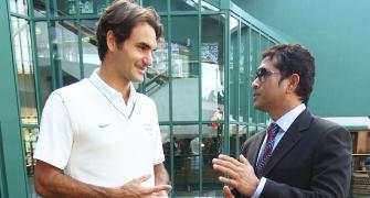 Roger Federer and Me, by Sachin Tendulkar