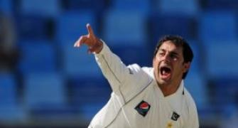 Ajmal reprimanded for using 'abusive language, gestures'