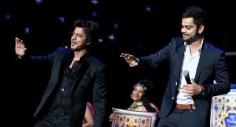 Virat topples Shah Rukh as most valuable celebrity