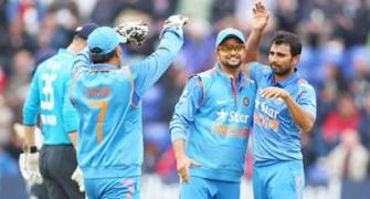 Raina credits Shastri for India's turnaround