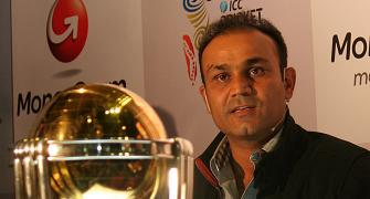 Sehwag chooses silence after India head coach snub