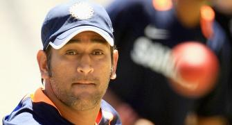 Dhoni snubs media after his name figures in IPL spot fixing