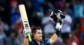 Taylor-cut ton helps Kiwis thrash India and seal ODI series