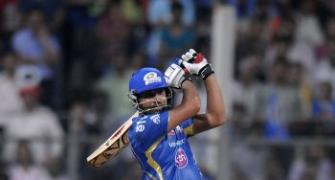 Rohit, Pollard steer Mumbai past Bangalore for second win