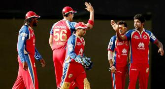 PHOTOS: Royal Challengers edge past Chennai Super Kings