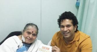 Look who received the first copy of Tendulkar's autobiography