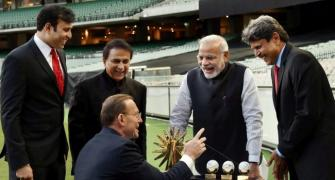 When Laxman was bowled at MCG by Modi's speech