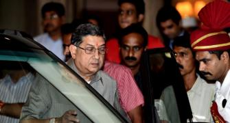 Srinivasan seeks reinstatement as BCCI President