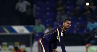 Narine will get over this episode: Williams