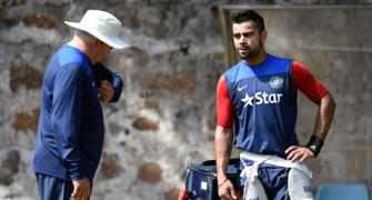 PHOTOS: Struggling Kohli sweats in the nets ahead of 2nd ODI