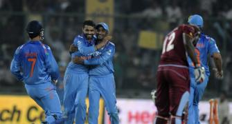 West Indies implode as India level series