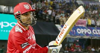 Sehwag appointed mentor of Kings XI Punjab