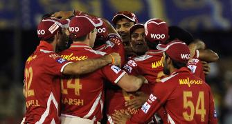 Luck favours Kings XI, but MI's agony continues