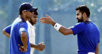 Dravid has pearls of wisdom for Kohli