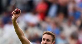 Broad joins list of lunchtime heroes